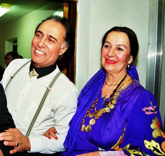Николай Сличенко и Тамилла Агамирова