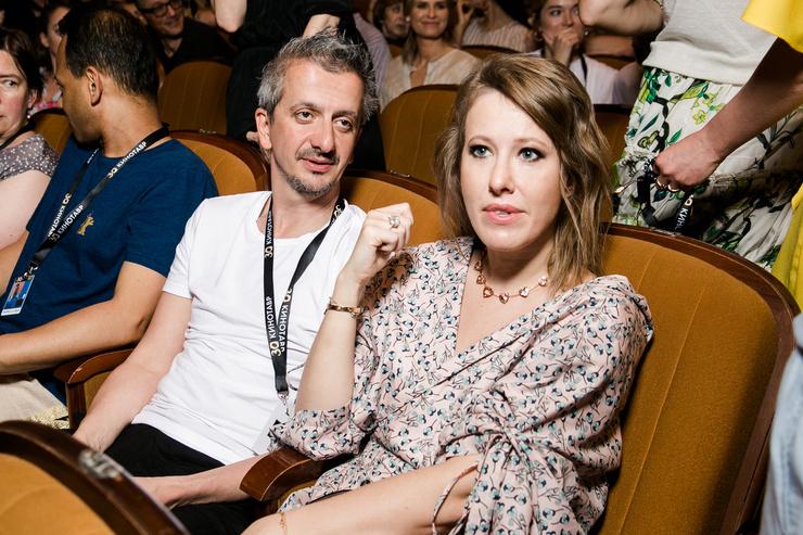 С лета 2018-го в звездных кругах заговорили о романе Богомолова с Ксенией Собчак