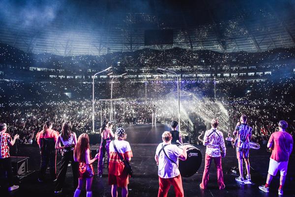 Последний концерт группировки пройдет 12 октября в Санкт-Петербурге