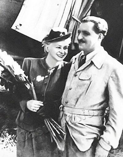 Прототипами для их персонажей стали актриса Валентина Серова и ее супруг поэт Константин Симонов