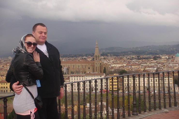 Наталья и Владимир Фриске