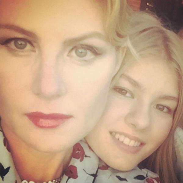 Рената Литвинова с дочерью