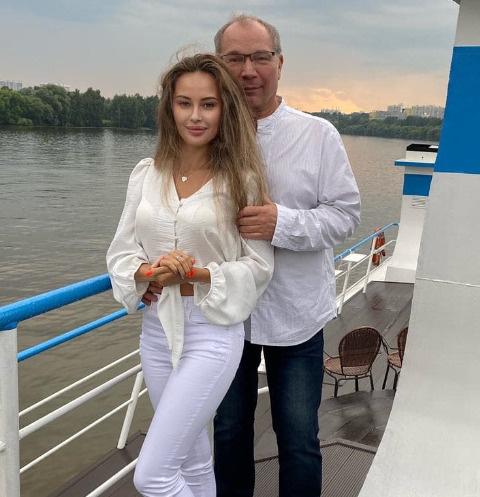 Мария Слугина и Юрий Розум
