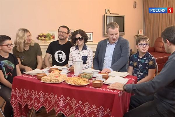 Семья Дианы Гурцкая
