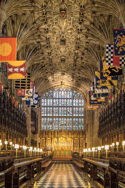 Церемония в часовне Святого Георгия займет около часа