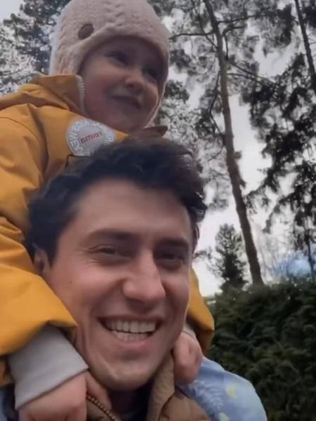 Актер провел время с детьми