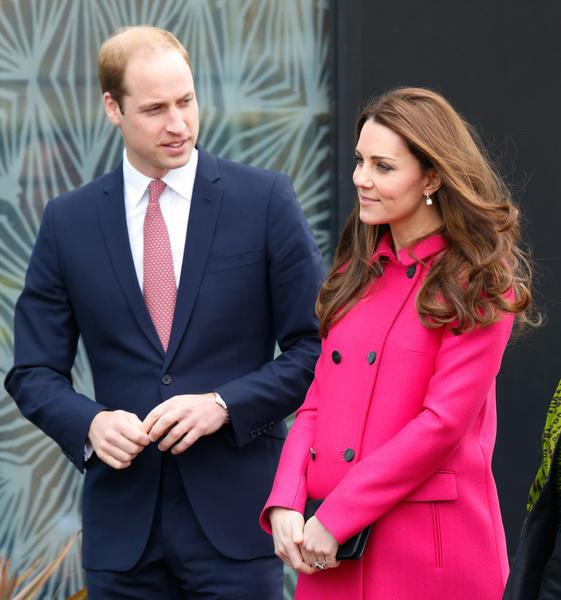 Принц Уильям и беременная Кейт Миддлтон