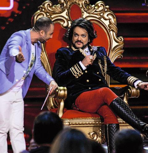 Царское кресло для Филиппа привезли из «кладовых Эрмитажа»