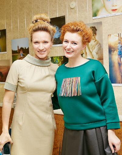 Мария Киселева с Амалией Гольданской