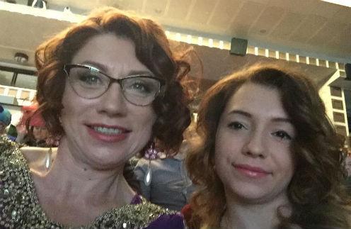 Роза Сябитова с дочерью Ксенией