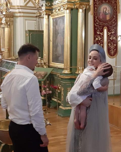 Маленький Рудольф прошел таинство крещения