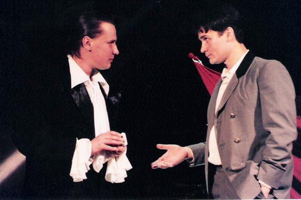 Sergei Baryshev in the play