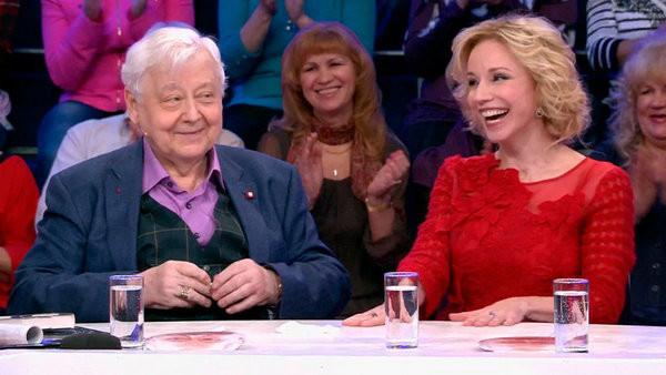 Марина Зудина и Олег Табаков прожили вместе 35 лет