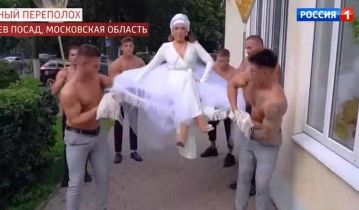 Азиза была восточной красавицей на свадьбе