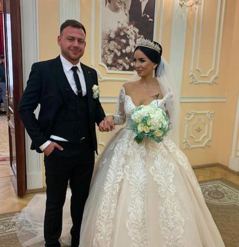 Свадьба Валерия Блюменкранца и Анны Левченко