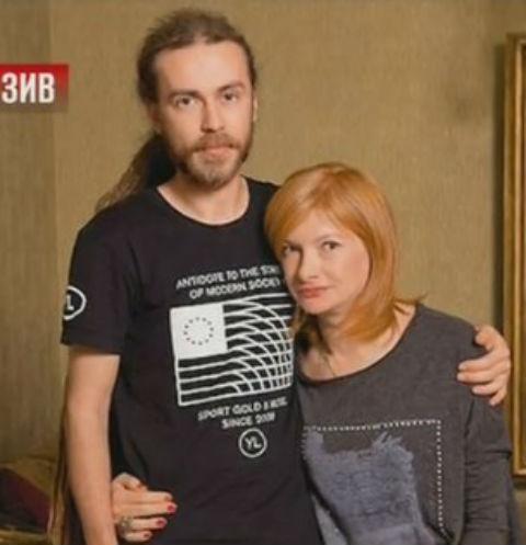 Кирилл Толмацкий с мамой