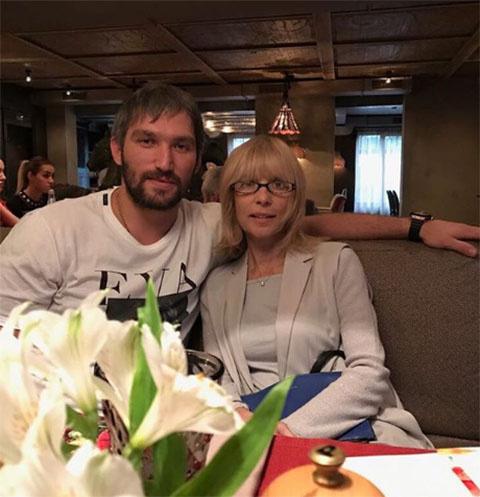 Александр Овечкин и Вера Глаголева
