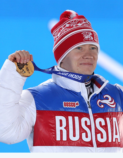 Александр Смышляев, завоевавший бронзовую медаль в могуле