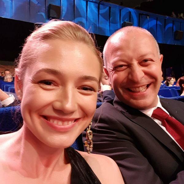 Оксана Акиньшина с мужем Арчилом Геловани