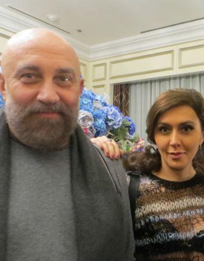 Павел Каплевич и Екатерина Мцитуридзе
