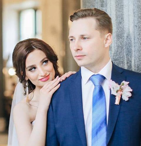 Анастасия Солтан и Алексей Плотников