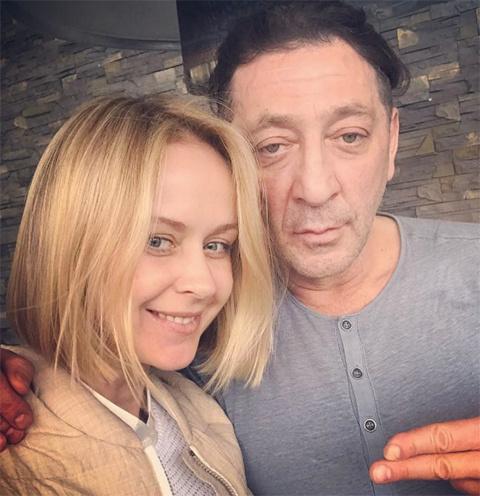 Григорий Лепс и его жена Анна