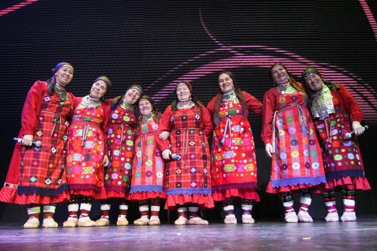 «Бурановские бабушки» заняли на конкурсе второе место