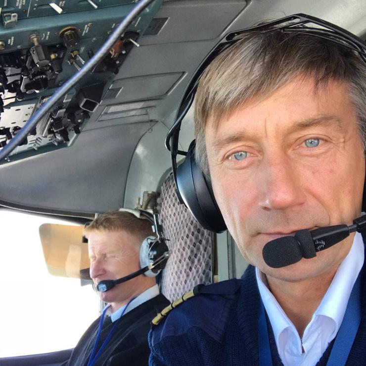 Пилот Анатолий Прытков сломал ногу