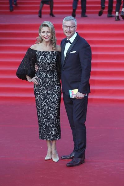 Екатерина Архарова с мужем Артемом Илясовым
