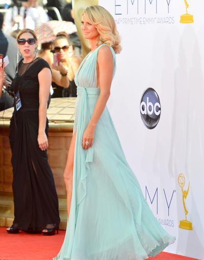 Хайди Клум блистала в воздушно-голубом платье
