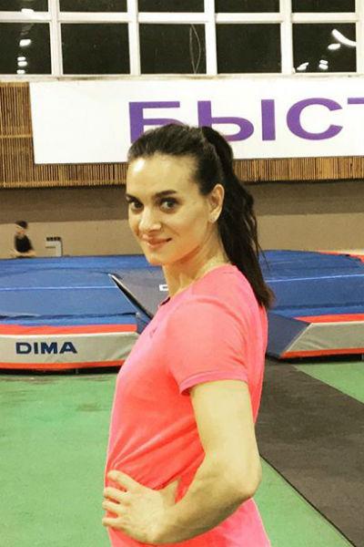 Елена готовится взять новый рекорд