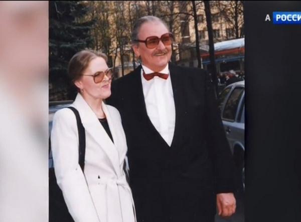 Юрий Яковлев с супругой Ириной Сергеевой