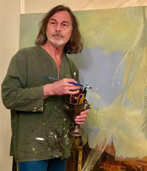 В столице  попал в трагедию  художник Никас Сафронов