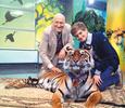 Николай Дроздов научил преемника спасаться от хищников