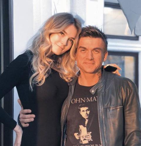 Алина и Влад Топаловы