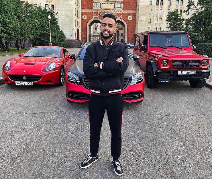 Гусейн Гасанов владеет целым автопарком