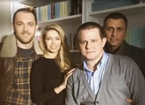 Актеры во время съемок «Мажора»