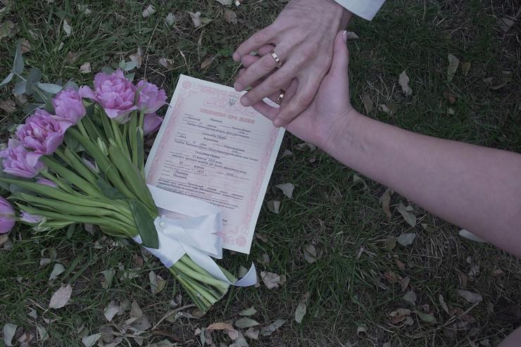 Отношения Анатолий и Леся узаконили в Чернигове