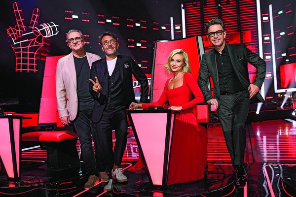 Валерий Сюткин впервые стал наставником шоу