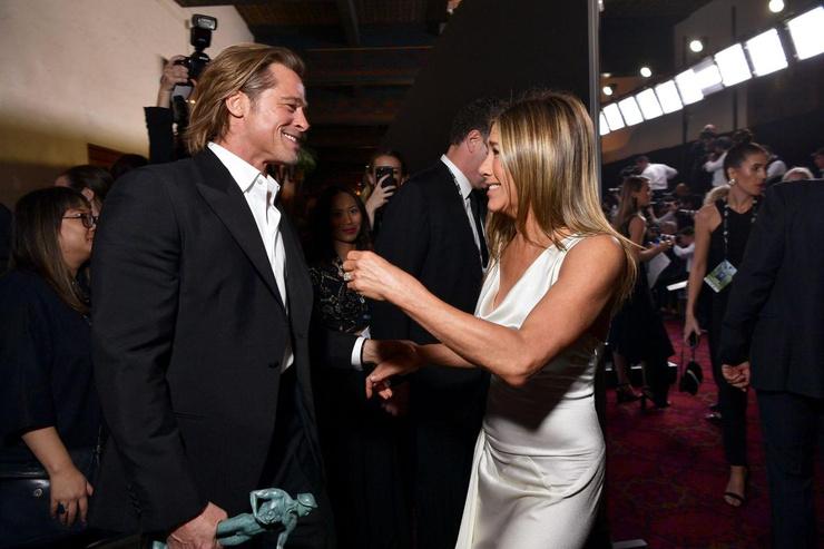 После SAG Awards поклонники поверили в воссоединение Джен и Брэда Питта