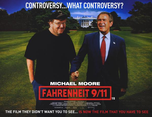 Майкл Мур снял документальный фильм о событиях 11 сентября 2001-го и политике Джорджа Буша-младшего