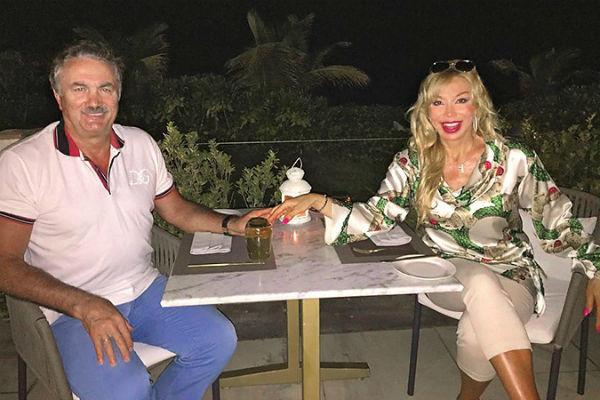 Маша Распутина с супругом Виктором Захаровым