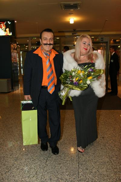 Вилли Иванович с супругой Юлией