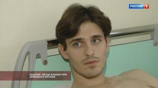 Василий Степанов восстанавливается после травмы позвоночника