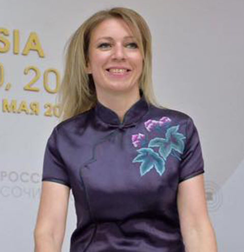 Мария Захарова раскрыла особый секрет своего гардероба