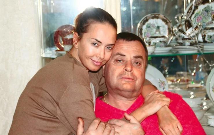 Жанна Фриске с папой Владимиром Борисовичем