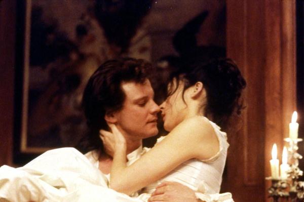 Страсть между 29-летним Колином и Мег Тилли вспыхнула на съемках фильма «Вальмон»
