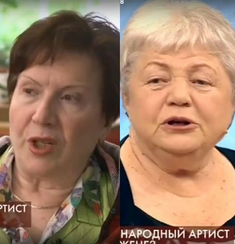 Дочь и вдова Михаила Пуговкина