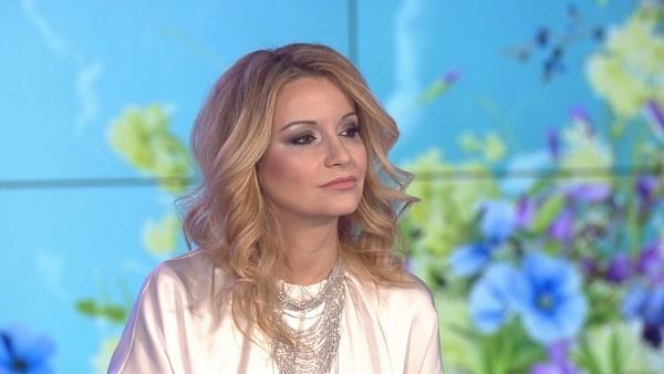 Ольга Орлова на съемках телестройки