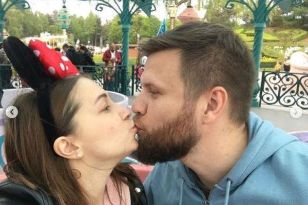 Ксения Сябитова с возлюбленным